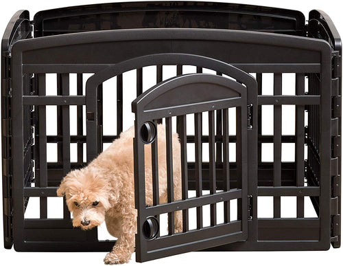 "24"" Exercise playpen Panels for Dog - EK CHIC HOME"