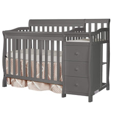 Load image into Gallery viewer, Jayden 4-in-1 Mini Convertible Crib And Changer - EK CHIC HOME