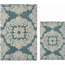 Load image into Gallery viewer, Cotton 2-Piece Luxury Tufted Bath Rug Set - EK CHIC HOME