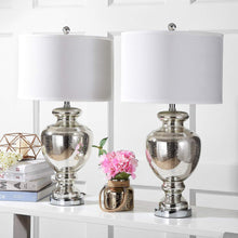 "Load image into Gallery viewer, Morocco Mercury 28"" Glass Table Lamp (Set of 2) - EK CHIC HOME"
