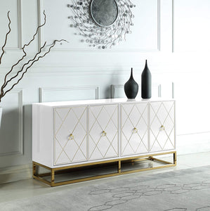 High Gloss Lacquer Sideboard/Buffet