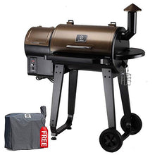 Load image into Gallery viewer, Wood Pellet Barbecue Grill And Smoker with Digital