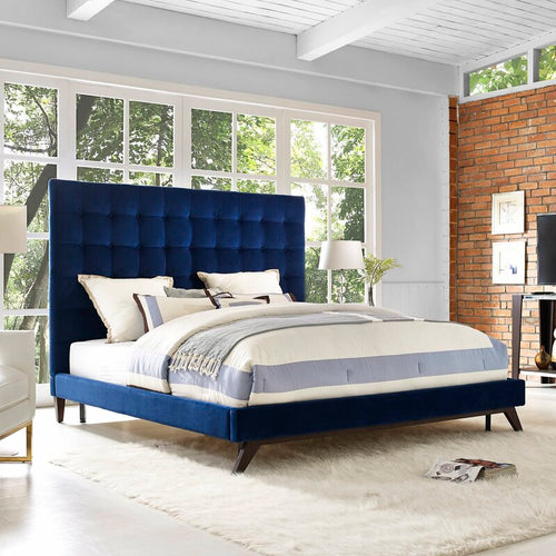 LUXE Upholstered Platform Bed