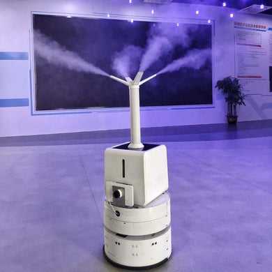 Intelligent Disinfection Robot For Public Areas
