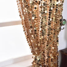 Load image into Gallery viewer, 52 x 108-Inch Sequin Curtains Drapes Panels Window Treatments - EK CHIC HOME