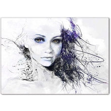Load image into Gallery viewer, Illuminated Modern Canvas Artwork Framed - EK CHIC HOME