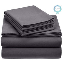 Load image into Gallery viewer, t 100% Cotton Flannel Sheet Set - EK CHIC HOME