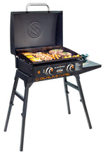 "Load image into Gallery viewer, Adventure Ready 22"" Griddle with Hood, Legs, Adapter Hose"