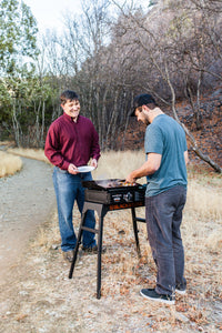 "Adventure Ready 22"" Griddle with Hood, Legs, Adapter Hose"