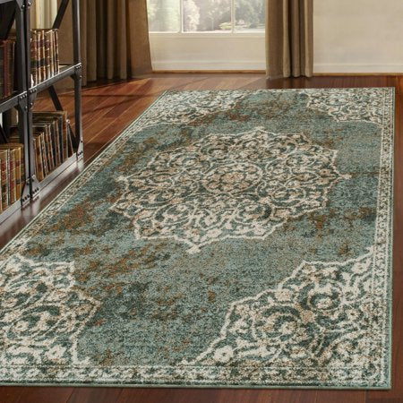 Collection Area Rug, Blue - EK CHIC HOME