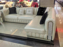Load image into Gallery viewer, Leather Sofa Post-Modern SECTIONAL Combination Sofa Set - EK CHIC HOME