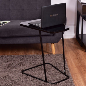 Modern Glass Top End Table - EK CHIC HOME