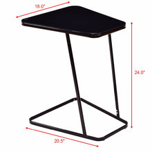 Load image into Gallery viewer, Modern Glass Top End Table - EK CHIC HOME
