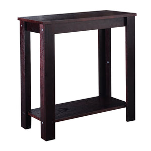 2PC Sofa Chair Side Table Wooden End Coffee Table - EK CHIC HOME