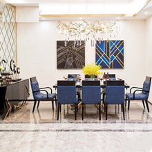 Load image into Gallery viewer, Luxurious Exquisite Marble Dining Table - EK CHIC HOME