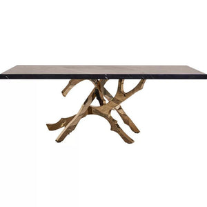 Luxurious Exquisite Marble Dining Table - EK CHIC HOME