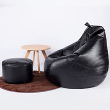 Load image into Gallery viewer, Modern PU Leather Bean Bag Home Leisure With Filler - EK CHIC HOME