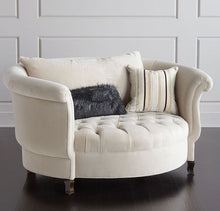 Load image into Gallery viewer, Round Modern Single Art Leisure Chair - EK CHIC HOME