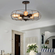 Load image into Gallery viewer, 5-Light Vintage Metal Hanging Ceiling Light - EK CHIC HOME