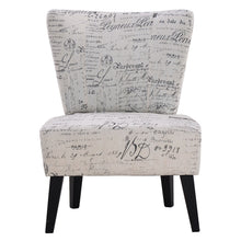 Load image into Gallery viewer, Armless Accent Chair Upholstered Seat Dining Chair Living Room Furniture - EK CHIC HOME