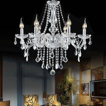 Load image into Gallery viewer, Elegant Crystal Chandelier Ceiling Light - EK CHIC HOME
