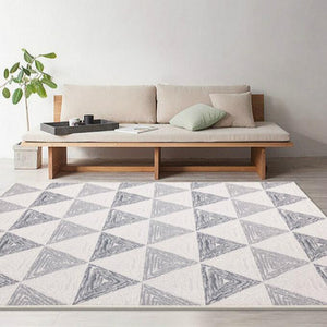Geometric Nordic Style Large Size Living Room Rugs - EK CHIC HOME