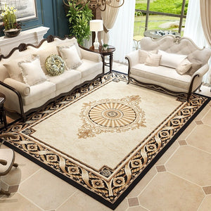 Elegant Villa Carpet Luxurious Living Room Rugs - EK CHIC HOME