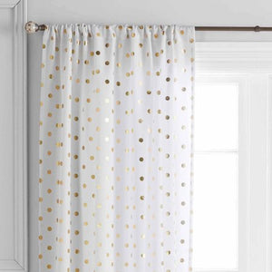 Polka Dots Panel - EK CHIC HOME