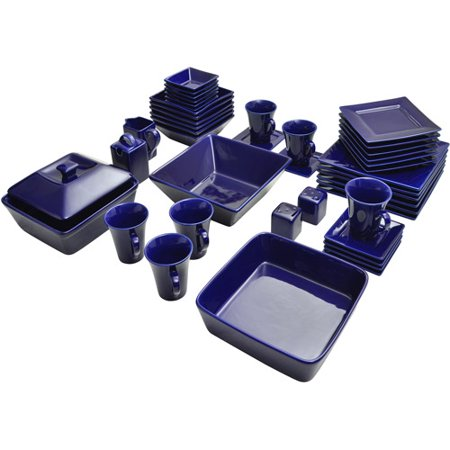 Nova Square Banquet 45-Piece Dinnerware Set - EK CHIC HOME