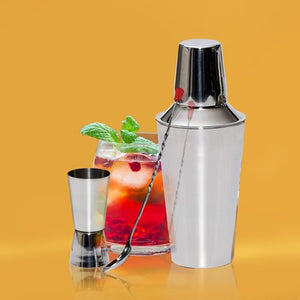 Stainless Steel 6 Piece Bartender Set - EK CHIC HOME