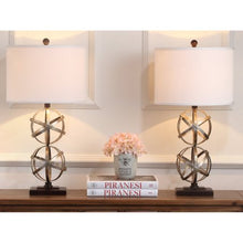 Load image into Gallery viewer, Double Sphere Table Lamp Set of 2 - EK CHIC HOME