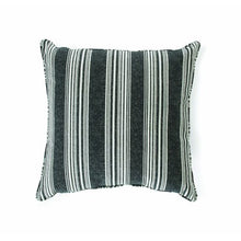 Load image into Gallery viewer, 19 x 19 in. Mirrored Stripe Outdoor Toss Pillow - Set of 2 - EK CHIC HOME