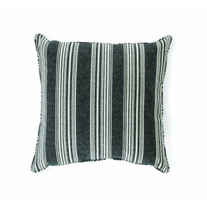 19 x 19 in. Mirrored Stripe Outdoor Toss Pillow - Set of 2 - EK CHIC HOME