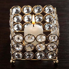 Load image into Gallery viewer, Square Votive Tealight Candle Holder - EK CHIC HOME