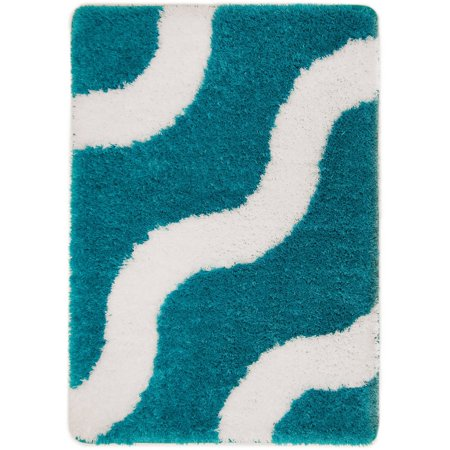 Memory Foam Bath Rug, Teal Sachet - EK CHIC HOME