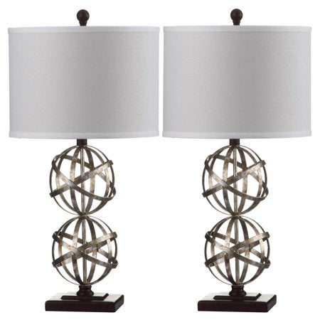 Double Sphere Table Lamp Set of 2 - EK CHIC HOME