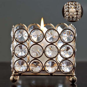 Square Votive Tealight Candle Holder - EK CHIC HOME