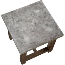 Load image into Gallery viewer, Concrete Chic Square Coffee Table - EK CHIC HOME