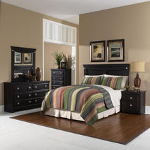 Load image into Gallery viewer, 5 Piece Bedroom Suite: Queen Bed Headboard, Dresser, Mirror, Chest, Nightstand - EK CHIC HOME