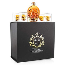 Load image into Gallery viewer, Skull Shaped Glass Decanter Gift Set - EK CHIC HOME