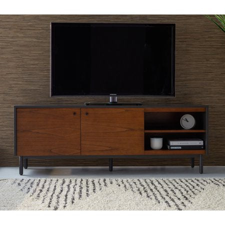 Industrial Finna Low Profile Media Cabinet - EK CHIC HOME