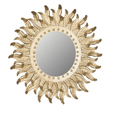Sun Burst Wall Mirror - 20.5W x 21.7H in. - EK CHIC HOME