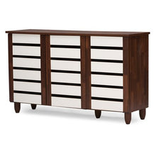 Load image into Gallery viewer, Gisela 3 Door Shoe Cabinet - EK CHIC HOME