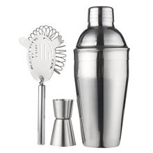 Load image into Gallery viewer, Cocktail Shaker Bar Set/Martini Kit - 10-Pack Stainless Steel - EK CHIC HOME