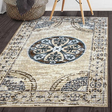 Load image into Gallery viewer, Superior Designer Shiloh Non-Skid Printed Area Rug - EK CHIC HOME