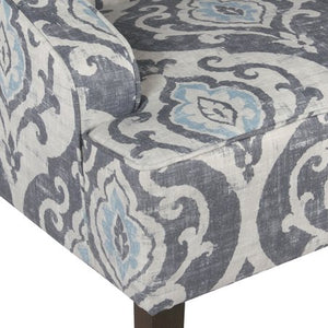 Classic Swoop Accent Chair, Multiple Colors - EK CHIC HOME