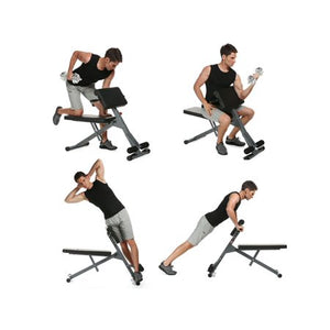 Adjustable Sit Up Bench Slant Board Ab Trainer - EK CHIC HOME