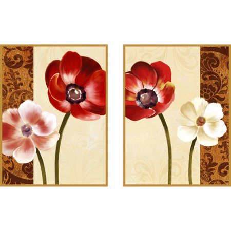 Memorabilia Duet Plaque, 2-Pack - EK CHIC HOME