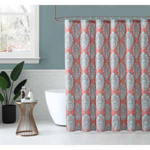 Peach & Oak Shower Curtain - 72x72 - EK CHIC HOME