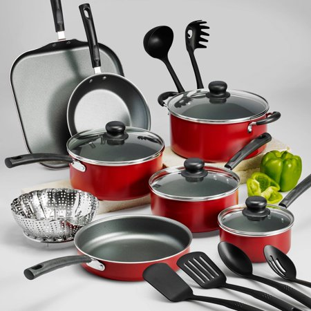 PrimaWare 18-Piece Nonstick Cookware Set - EK CHIC HOME